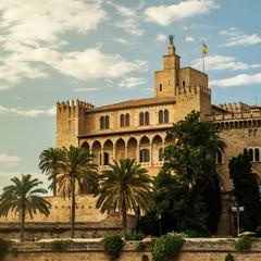 Almudaina palace a Palma di Maiorca