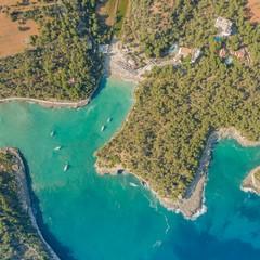 Cala Mondragò - Foto dal drone