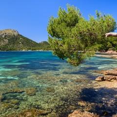 Spiaggia Cala Pi de La Posada a Cap Formentor