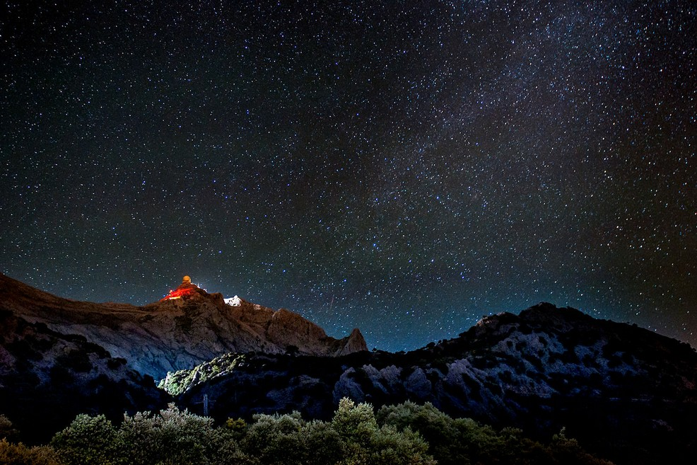 Cielo notturno Maiorca. <span>Foto Andrés Nieto Porras</span>