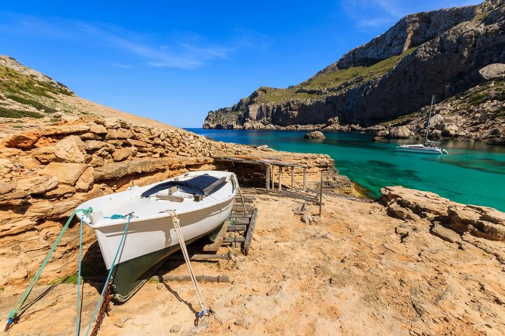 Maiorca Cala Figuera on Cap Formentor