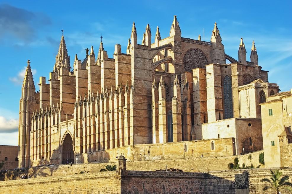Maiorca Cattedrale di palma de maiorca