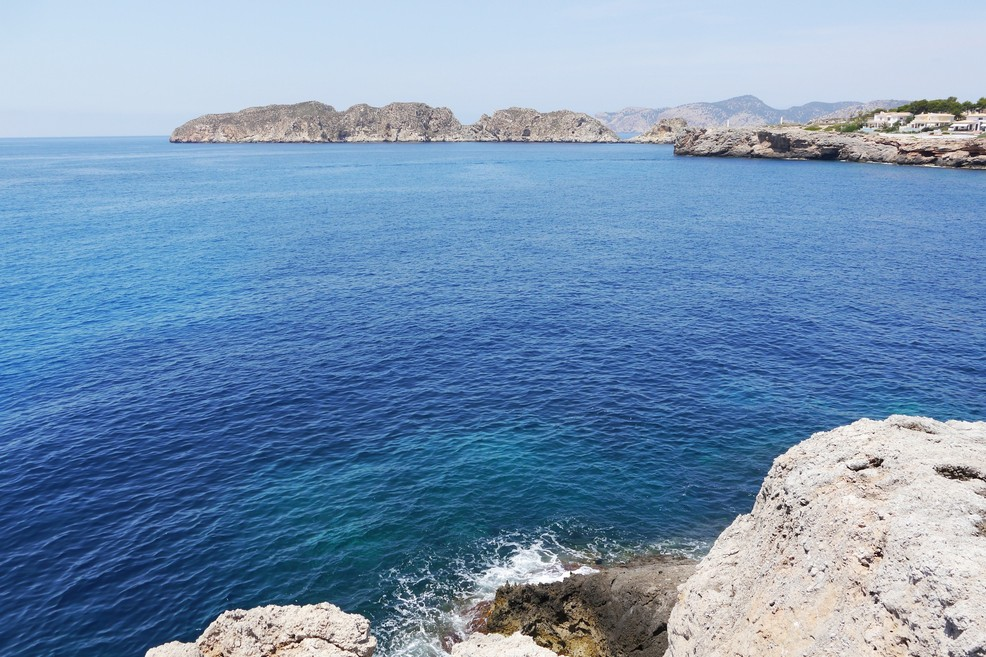 Maiorca Santa Ponsa sea coast